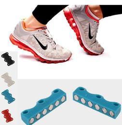 1 Pair Sneaker Magnetic Shoe No Tie Casual Shoe Laces Closur