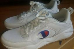 10.5 Champion 93 Eighteen M100416M Mens White Casual Low Top