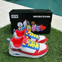 100% Authentic UNO BT21 SKECHERS Sneakers Line Friends Limit