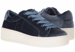 $109 STEVE MADDEN Creepers Bertie-V Size 8 1/2 8.5 Blue Velv