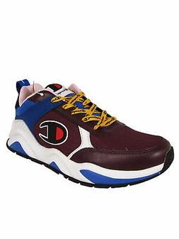 $110 Champion Mens 93Eighteen Block Lace Up Sneaker Shoes, M