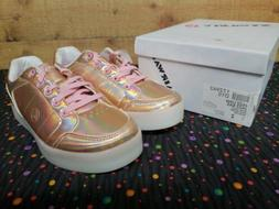 Airwalk 172942 Jazz Low Rose Gold Sneakers Junior Girls Shoe