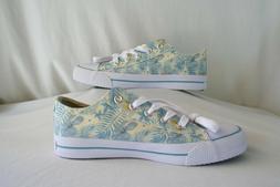 Airwalk 181510 Legacee Canvas Cream Floral Blue Casual Shoes