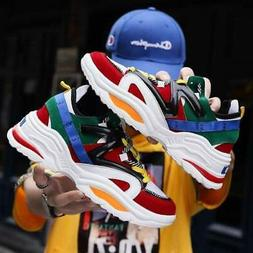 2019 Harajuku Autumn Vintage Sneakers Men Breathable Mesh Ca