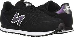 New Balance Women's 311v1 Sneaker, Black/White, 6 D US