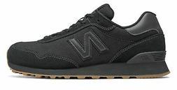 New Balance Men's 515 Shoes Black with Gum