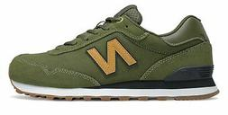 New Balance Men's 515 Shoes Green with Tan