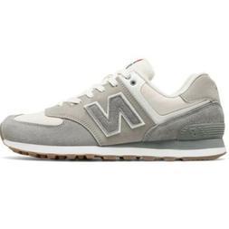 🆕 New Balance 574 Men's Retro Sport Sneakers, Steel/White