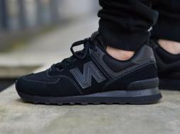 New Balance Men's 574S Sport Sneaker,black/black/black,12 D