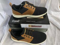 Skechers Men's DELSON- Brant Shoe, BRBK, 10 Medium US
