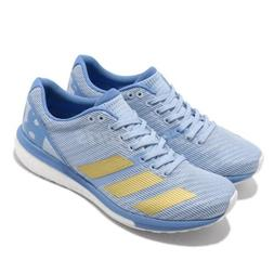 adidas Adizero Boston 8 W Blue Gold Continental Women Runnin