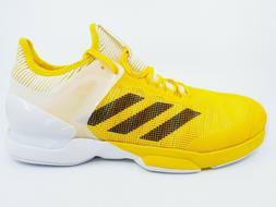 Adidas Adizero Ubersonic 2 Yellow Men's Tennis Shoes Sneaker