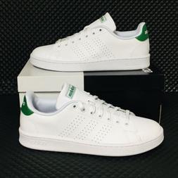 Adidas Advantage Men's Athletic Casual Tennis Shoes White