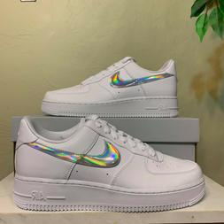 Nike Air Force 1 '07 Low 'White Iridescent Swoosh' Women's S