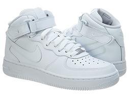 Nike Kids NIKE AIR FORCE 1 MID  BASKETBALL SHOES 4.5