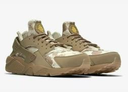 Nike Air Huarache Run Desert Ore/Canteen Camo Men's Sneakers
