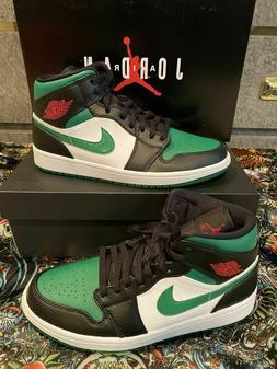 🏀 Nike Air Jordan 1 Mid Basketball Retro Shoes Pine Green