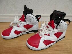 NIKE AIR JORDAN VI Red × White × Black Vintage Sneakers fo