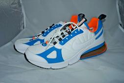 Nike Air Max 270 Futura Size 9.5 White Blue Orange Sneaker