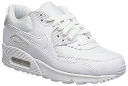 NIKE Men's Air Max 90 Essential Sneakers, Blanco , 8.5 UK