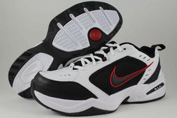 NIKE AIR MONARCH IV 4 EXTRA WIDE 4E EEEE WHITE/BLACK/RED CRO