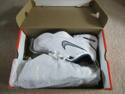 Nike Men's NIKE AIR MONARCH IV  RUNNING SHOES -8;   White /