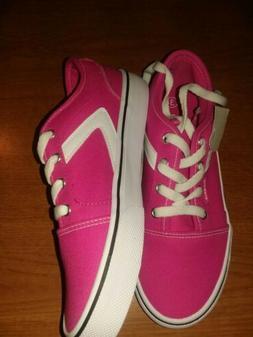 Airwalk Air Walk girl size 3 HOT PINK tennis canvas sneaker