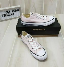 Converse All Star Low Top Barely Rose Pink Sneakers Shoes Wo