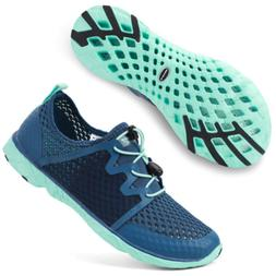 ALEADER Aquatic Water Shoes for Women, Sneakers for Walk, Hi