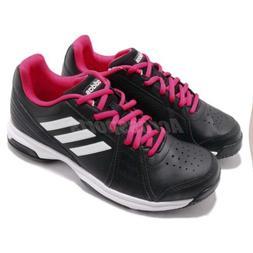 adidas Aspire Black White Pink Women Tennis Training Shoes S