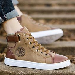 Haoricu_ Athletic Shoes Men Women Couple Shoes Causal Lace-U