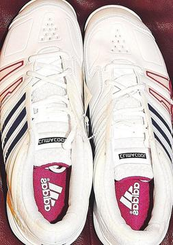 Athletic shoes tennis Adidas court mens 8 Genius blue red 2