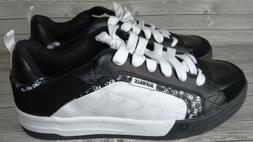 attack skateboard shoes sneakers with skull crossbones