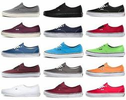 Vans Authentic Era Classic Sneakers Canvas Mens Women Off Th