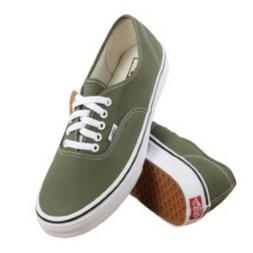 Vans authentic winter moss green sneaker shoes men size 9.5