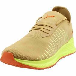 Puma Avid Evoknit Su Khaki Lace Up  Mens  Sneakers Shoes Cas