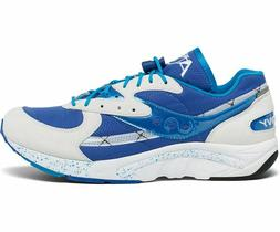 "Saucony Aya ""Limited Edition"" Sneakers  White/Blue/Light Blu"
