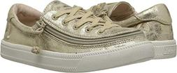 BILLY Footwear Kids Baby Girl's Classic Lace Low  Gold Metal