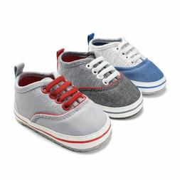 Baby Shoes Canvas For Boys First Walkers Kids Children Newbo