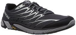 Merrell Men's Bare Access 4 Trail Running Shoe, Black/Dark G