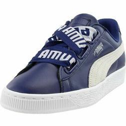 Puma Basket Heart DE  Casual   Sneakers - Blue - Womens