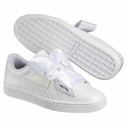 PUMA Basket Heart Patent Women's Sneakers Women Shoe Sport C