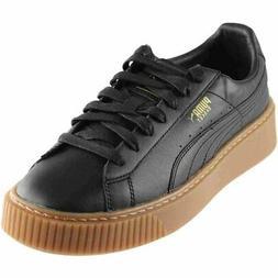 Puma Basket Platform Core  Casual   Sneakers - Black - Women