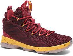 JIYE Men's Fashion Basketball Shoes Women's Breathable Flykn