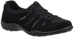 Skechers Sport Women's Big Bucks Fashion Sneaker,Black,10 M