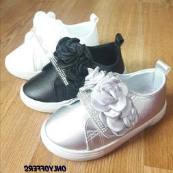 Big Kids Girls Sneakers Dress Tennis Shoes Size 11-3 New