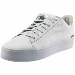 Puma Black Scale Court Platform  Casual   Sneakers - White -