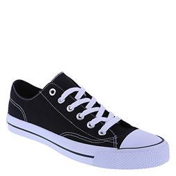 Airwalk Men's Black White Canvas Men's Legacee Sneaker 7.5 R