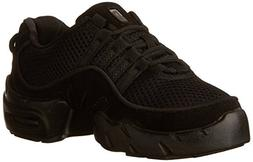 Bloch Women's Boost Mesh Sneaker Dance Sneaker,Black,5 X US