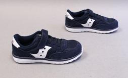 Saucony Boy's Baby Jazz Lite Suede Sneaker MC7 Navy/White ST